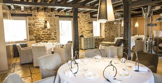 Restaurant étoilé Michelin L'Amaryllis. Saint Rémy.