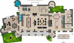 Plan RDC Chateau Montrevot