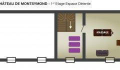 Espace detente Montsymond Etage